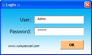 UserForm Login