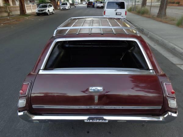 Original 1968 Oldsmobile Cutlass Wagon Auto Restorationice