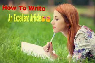 How To Write An Article That People's Actually Want To Read|