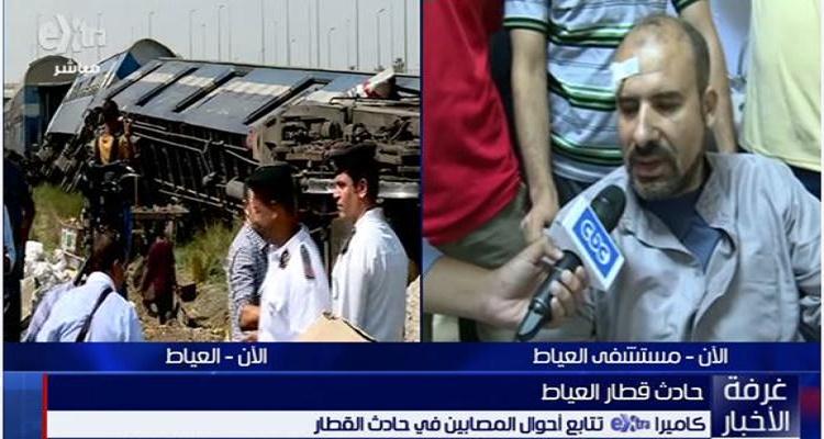 أحد الناجين من حادثة قطار العياط يروي تفاصيل صادمة عن لحظات الإنقلاب