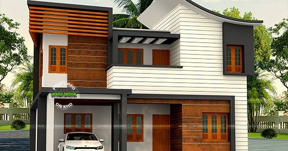 ₹30 Lakh Cost 1900 Sq Ft 4 Bedroom Home Kerala Home