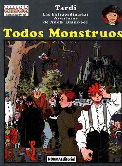 Todos Monstruos / Portada