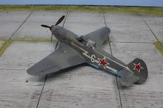 Yak 3 de Zvezda au 1/48.