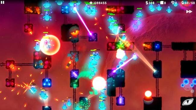 Jogo para Android Radiant Defense