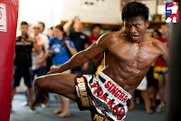 come on sparring with Buakaw