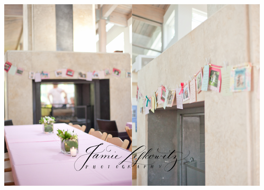 Bridal shower photo banner