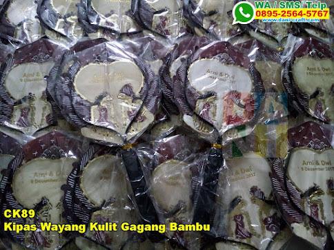 Harga Kipas Wayang Kulit Gagang Bambu