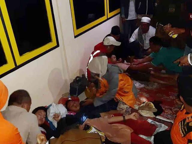 Basarnas Kolaka Temukan 23 Anggota Pramuka yanh Hilang di Kea-Kea