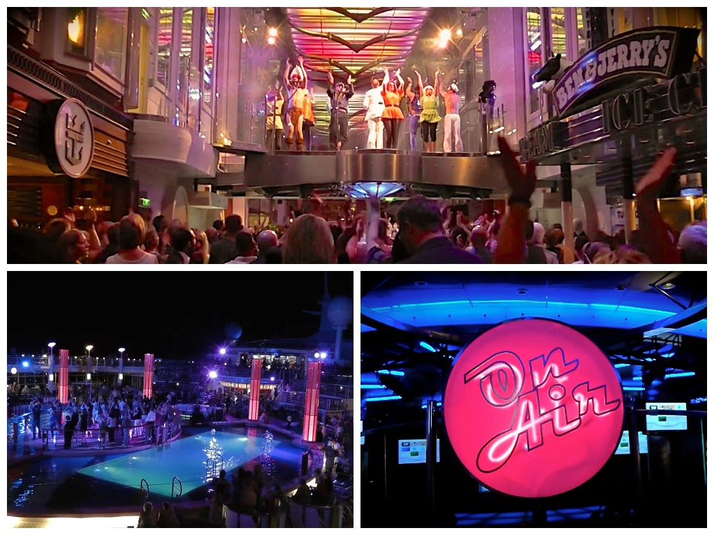 Nightlife onboard Independence of the Seas