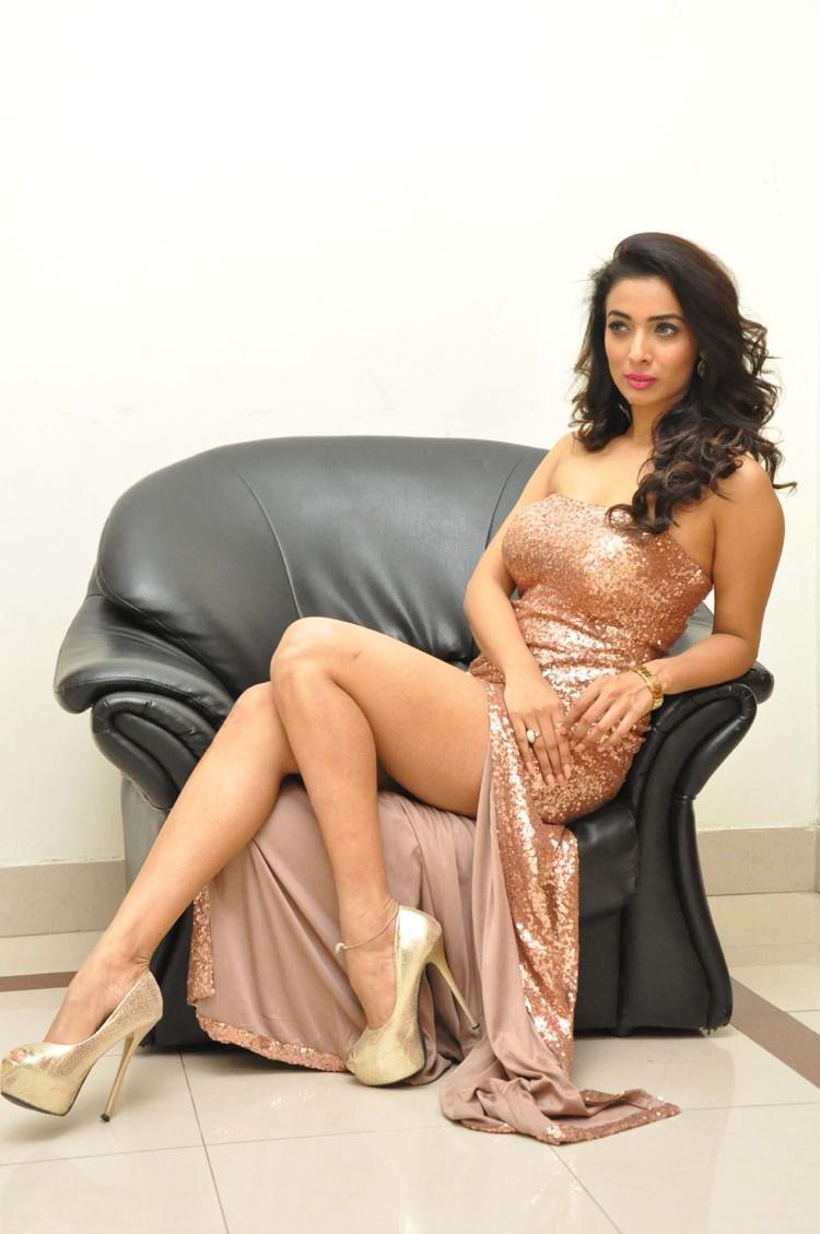 Heena Panchal sizzling at Thikka audio-HQ-Photo-19