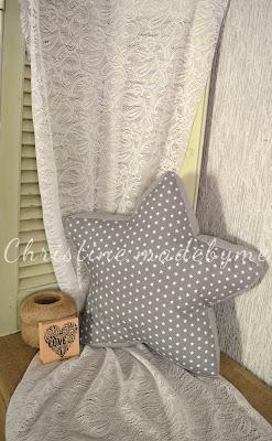 παιδικό μαξιλάρι αστέρι