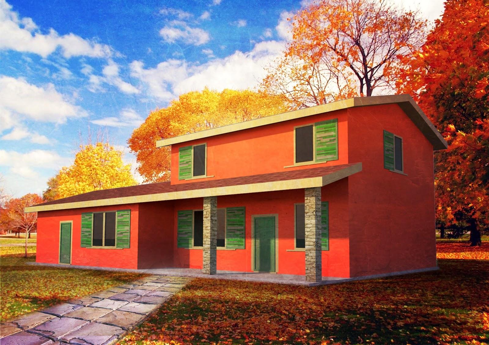 Progetti di case in legno for Progetto casa in legno pdf