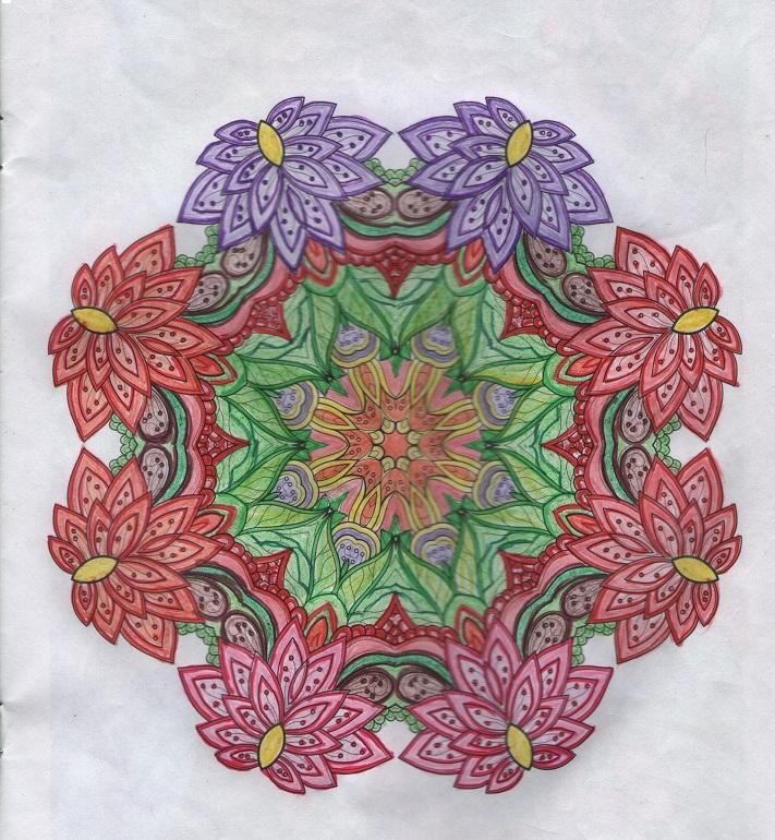 OrigamiLa Plata Videos de Mandalas pintados con Pinturita