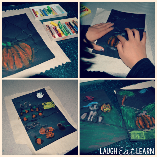 Fall is the perfect season to create art projects. Students really connect to all the beautiful colors, falling leaves, pumpkins, and fresh fall air. This craft is perfect for September, October, and can easily be turned into a spooky halloween activity. Pair it with fall acrostic poems to connect their learning!