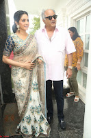 Sri Devi in designer saree stunning beauty at the launch of MOM movie Trailer~  Exclusive 159.JPG