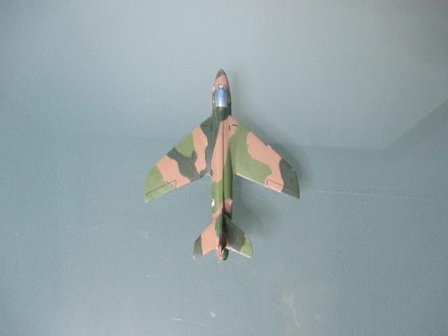 1/144 Hawker Hunter Singapore diecast aircraft