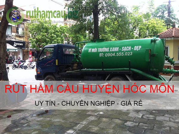 Rút hầm cầu tại huyện Hóc Môn giá rẻ uy tín số 1. Tel:0988.999.441