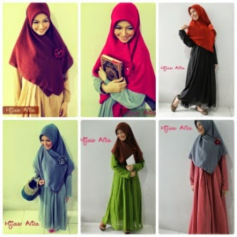 Koleksi Baju Muslim Syari Terkini