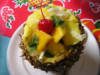 Image: Mango Pineapple Coconut Salad, by Chelsea Nesvig (ozmafan), on Flickr