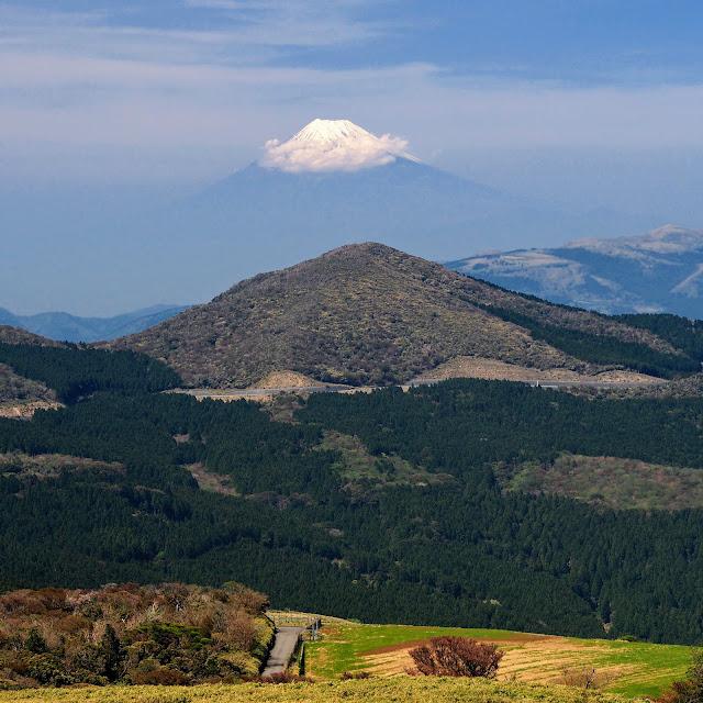 仁科峠からの富士山