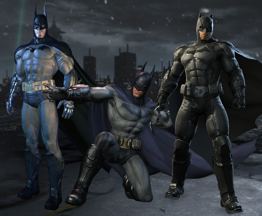 batman origins christmas song