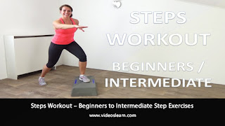 Steps Workout – Beginners to Intermediate Step Exercises