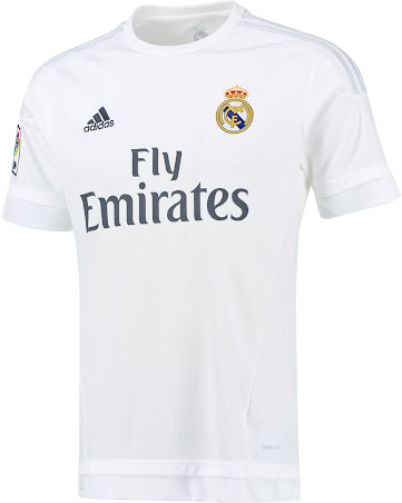 dcce5ab1c Real Madrid 15-16 Kits Released - Footy Headlines