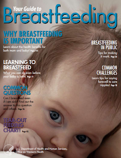 Breastfeeding magazine cover
