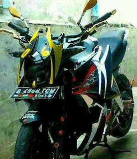 Modifikasi Yamaha Vixion 26