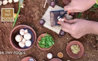Mushroom Pepper Fry | South Indian Mushroom Pepper Fry | EP14 | The Tiny Foods