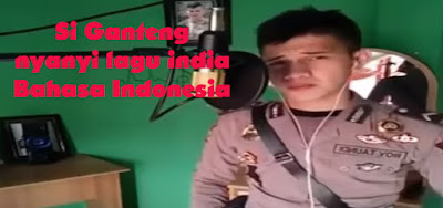 Video populer Polisi nyanyi lagu india