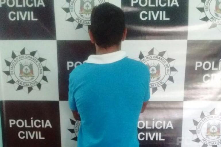 Homem é preso em Seberi por descumprimento de medidas protetivas de urgência - Foto: Polícia Civil