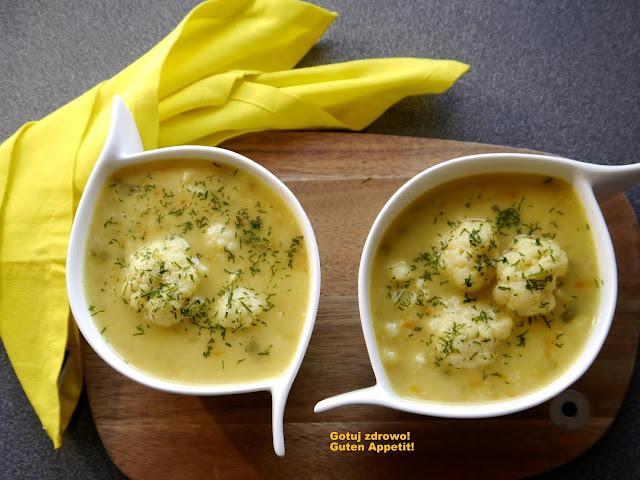 Orientalna zupa kalafiorowa - Czytaj więcej »