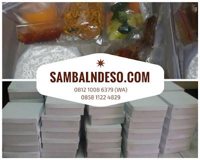 harga pesan nasi box Tangerang Selatan