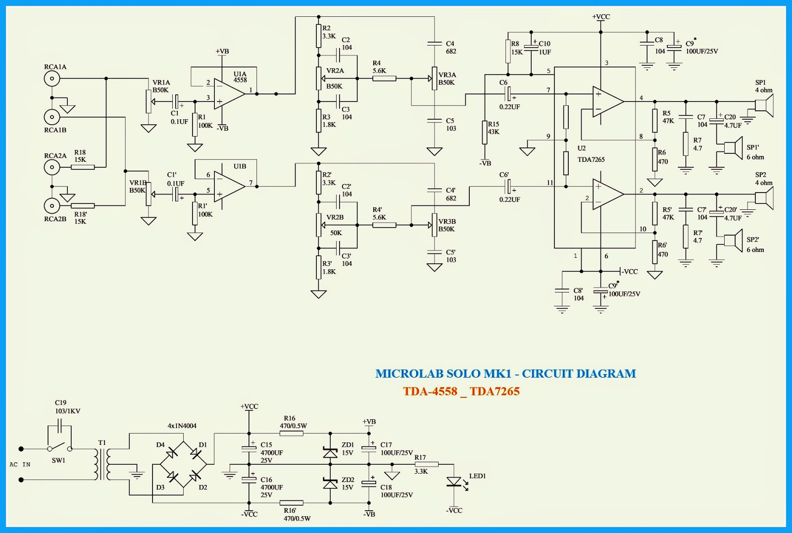 microlab m800 microlab solo1mk2 schematic computer