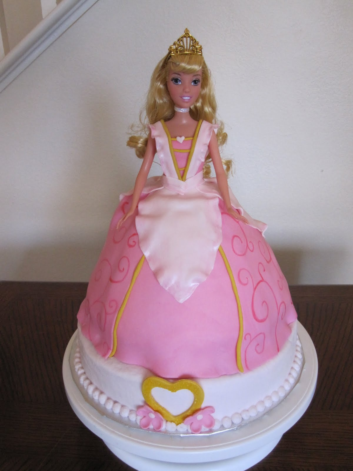 Ms Cakes Sleeping Beauty Barbie Cake