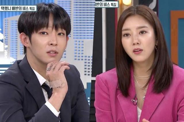 Nam Tae Hyun dan Son Dam Bi Mengungkapkan Kebenaran di Balik Rumor Kencan Mereka