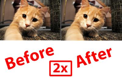 Cara Memperbesar Resolusi Gambar 2X Lipat Tanpa Pecah 11
