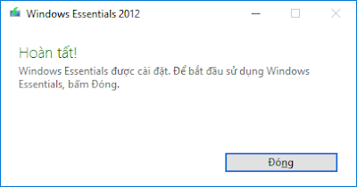 Cài đặt windows live mail 2012 - H04