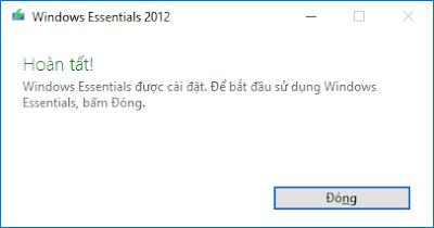Cài đặt windows live mail 2012 - H04