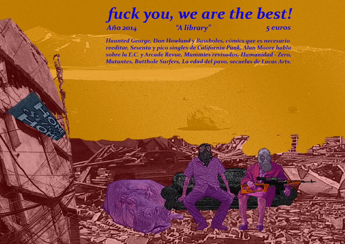 FUCK YOU, WE ARE THE BEST magazine