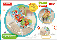 Bouncer Care Baby CPR71603 Car New Born-to-Toddler Portable Rocker