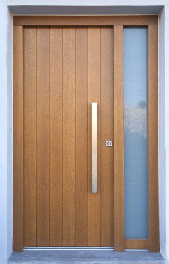 31 Desain Daun Pintu Rumah Dari Bahan Kayu Plafon Gypsum