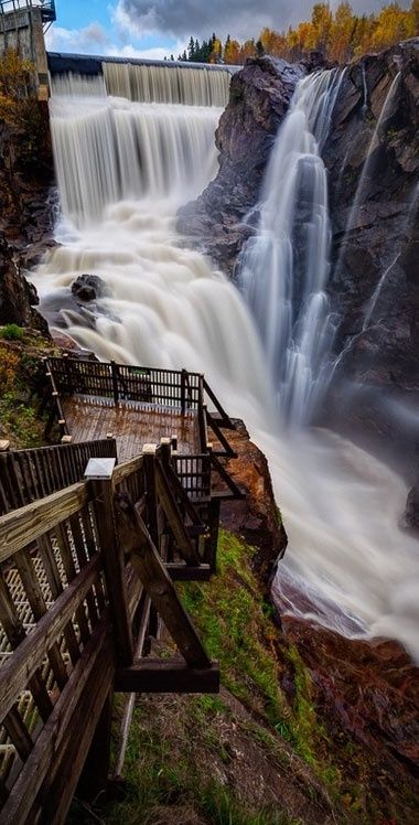 Steps to the Seven Falls, Colorado, USA