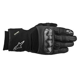 Γάντια Μηχανής Alpinestars Polar Gore-Tex Black