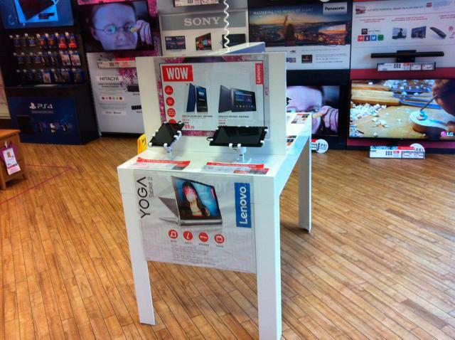 英國Argos公司採用Gripzo展示防竊產品,手機防盜展示架,平板防盜鎖,手機防盜器