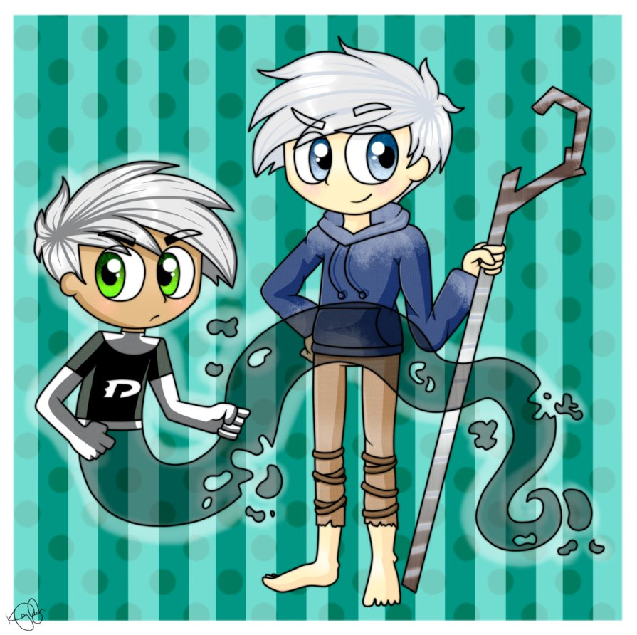 Jack Frost  I also met Hiccup  Rapunzel  Merida and Danny PhantomDanny Phantom Jack
