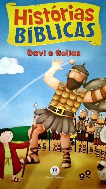 Achegue-se! Dicas para presentear - Histórias bíblicas - Davi e Golias
