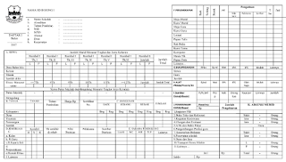 Download Contoh Daftar 1 Format Excel dan Word Gratis