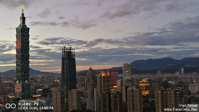 City Lights were coming out.... Love Taipei 101 here..